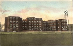 State of Ct. Veterans Home and Hospital, Front View Postcard