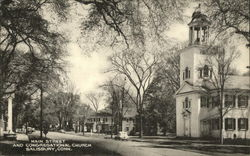 Main Street and Congregational Church