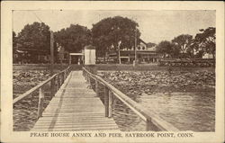 Pease House Annex and Pier