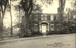 """King House"" - Residence of Admiral Thomas C Hart"