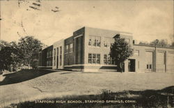 Stafford High School Postcard