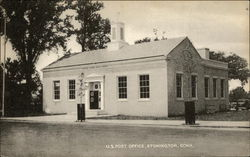 U.S. Post Office.