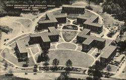 Girls Dormitories and Sorority Houses, University of Connecticut