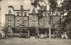 Suffield Academy North Building Postcard