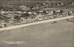 Aerial View of West Beach