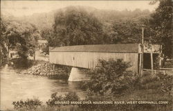 Covered Bridge over the Housatonic River