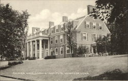 Palmer Hall, Loomis Institute Postcard