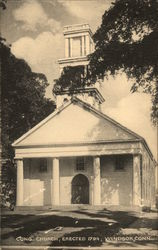 Cong Church, Erected 1794 Postcard