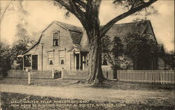 Lieut. Walter Flyer Homestead (1640) Postcard