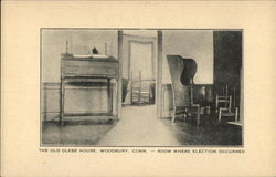 The Old Glebe House - Room Where Election Occurred Postcard