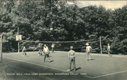 Volley Ball, Y.M.C.A. Camp Woodstock