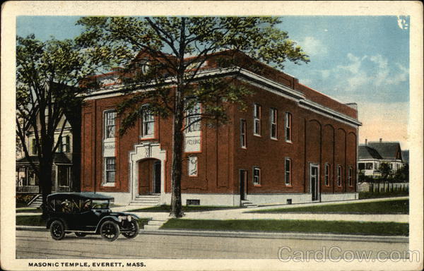 Masonic Temple Everett Massachusetts