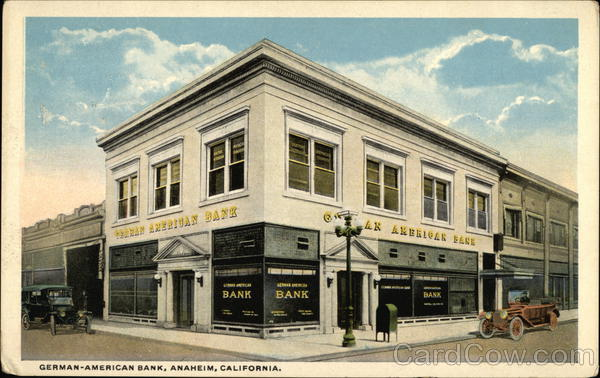 German-American Bank Anaheim California