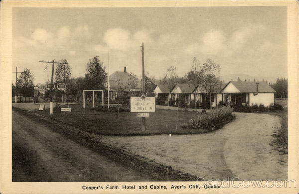Cooper's Farm Hotel and Cabins Ayer's Cliff Canada
