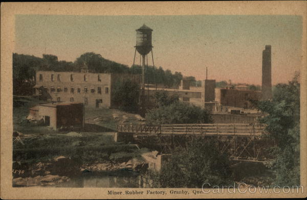 Miner Rubber Factory Granby Canada Quebec