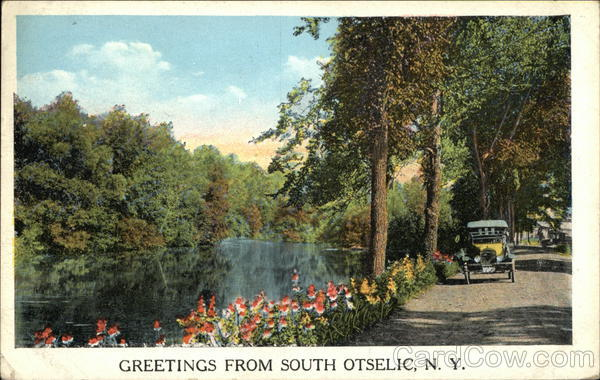 Greetings From South Otselic, N.Y. New York