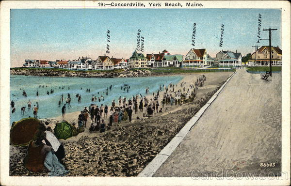 Concordville York Beach Maine