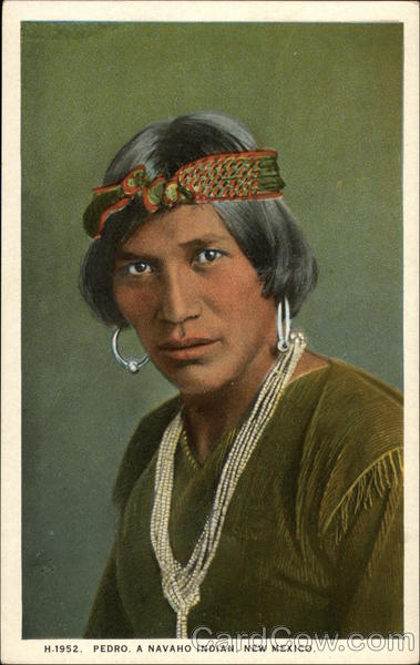 Pedro, A Navajo Indian, NM Native Americana
