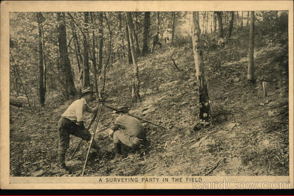 A Surveying Party in the Field Philadelphia Pennsylvania