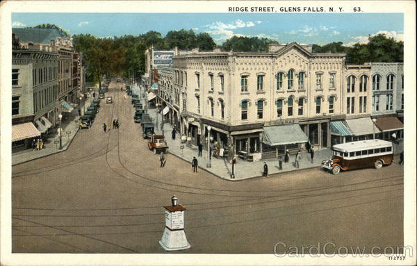 Ridge Street Glens Falls New York