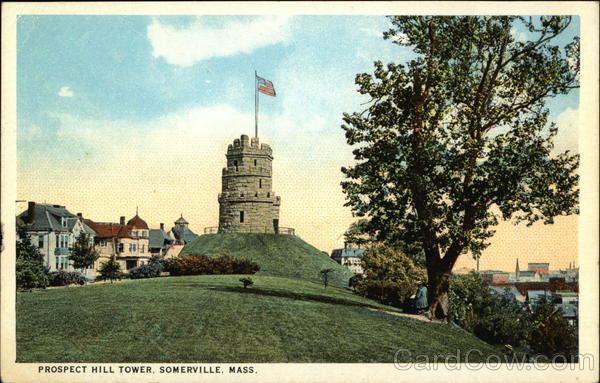Prospect Hill Tower Somerville Massachusetts