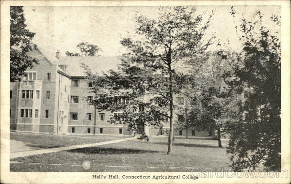 Connecticut Agricultural College - Hall's Hall Storrs