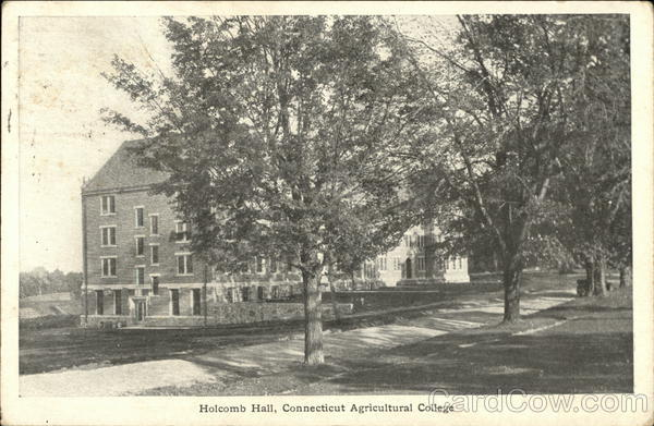 Connecticut Agricultural College - Holcomb Hall Storrs