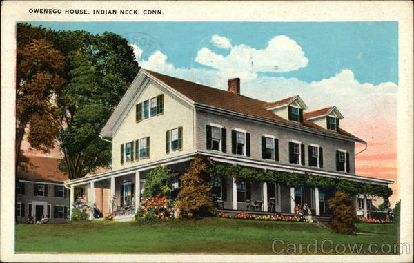 Owenego House Indian Neck Connecticut
