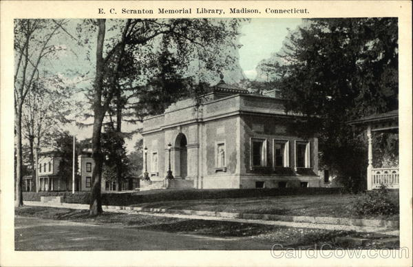 E. C. Scranton Memorial Library Madison Connecticut