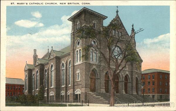 St. Mary's Catholic Church New Britain Connecticut