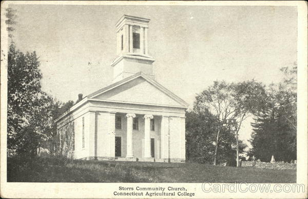 Connecticut Agricultural College - Storrs Community Church
