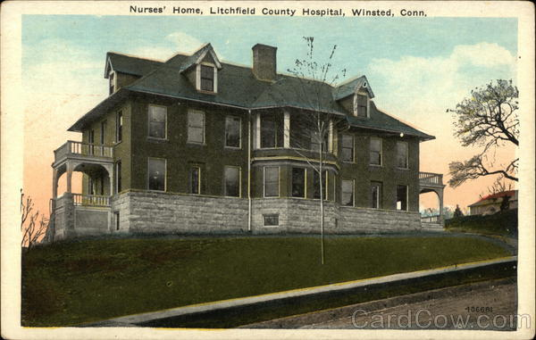 Nurses Home, Litchfield County Hospital Winsted Connecticut
