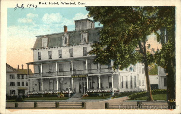 Park Hotel Winsted Connecticut