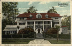 Residence of Mayor W.H. Sullivan