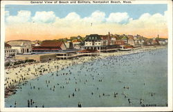 General View of Beach and Bathers