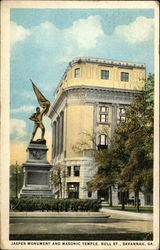 Jasper Monument and Masonic Temple