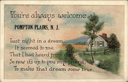You're always welcome at Pompton Plains