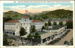 Manitou Springs Bath House and the Pike