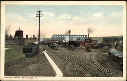 Erie Railroad Shops