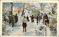 Winter Sports in the White Mts. of N.H.