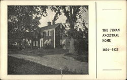 The Lyman Ancestral Home
