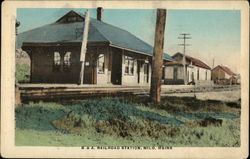 B. & A. Railroad Station