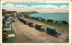 Ocean Avenue and Great Boars Head Postcard