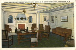 First Floor, Gentlemen's Lounging Room, B.F. Keith's Theatre