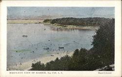 Bird's Eye View of Harbor