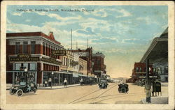 College Street Looking South Postcard