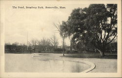 The Pond at Broadway Park
