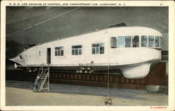 U.S.S. Los Angeles at Control and Compartment Car