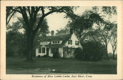 Residence of Miss Leticia Carlin