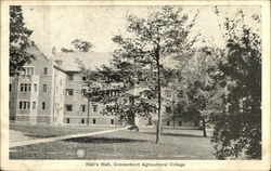 Connecticut Agricultural College - Hall's Hall